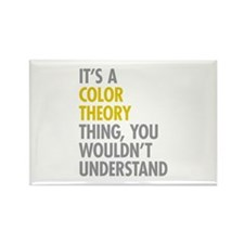 Color Theory Thing Rectangle Magnet (100 pack)