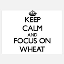 Keep Calm by focusing on Wheat Invitations