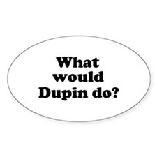 Dupin Oval Decal