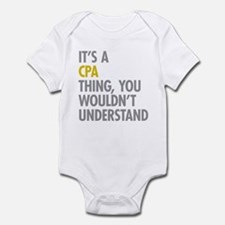 Its A CPA Thing Infant Bodysuit