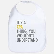 Its A CPA Thing Bib