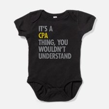 Its A CPA Thing Baby Bodysuit