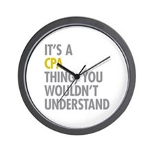 Its A CPA Thing Wall Clock