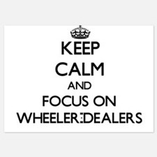 Keep Calm by focusing on Wheeler-Deale Invitations