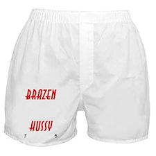BRAZEN.HUSSY.CLOCK Boxer Shorts