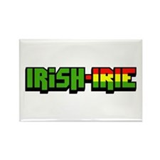 Irish-Irie Rectangle Magnet