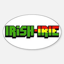 Irish-Irie Oval Decal