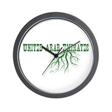 Emirates Roots Wall Clock