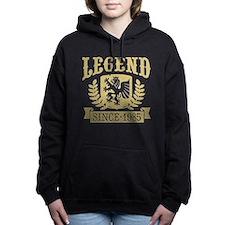 Legend Since 1985 Women's Hooded Sweatshirt