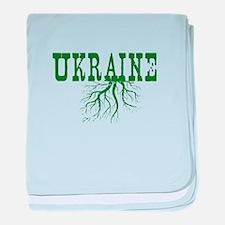 Ukraine Roots baby blanket