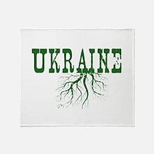 Ukraine Roots Throw Blanket