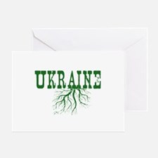 Ukraine Roots Greeting Card
