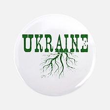 """Ukraine Roots 3.5"""" Button"""