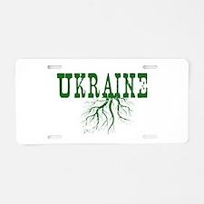 Ukraine Roots Aluminum License Plate