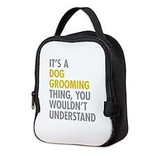 Dog Grooming Thing Neoprene Lunch Bag