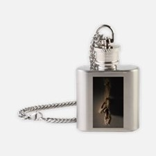 Pointe Shoes Ballet Flask Necklace