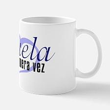 Abuela, Blue Mug