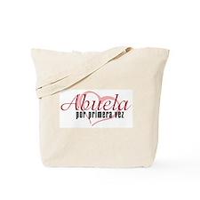 Abuela, Pink Tote Bag