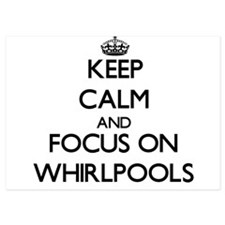 Keep Calm by focusing on Whirlpools Invitations