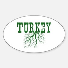 Turkey Roots Decal