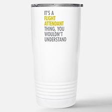 Flight Attendant Thing Travel Mug