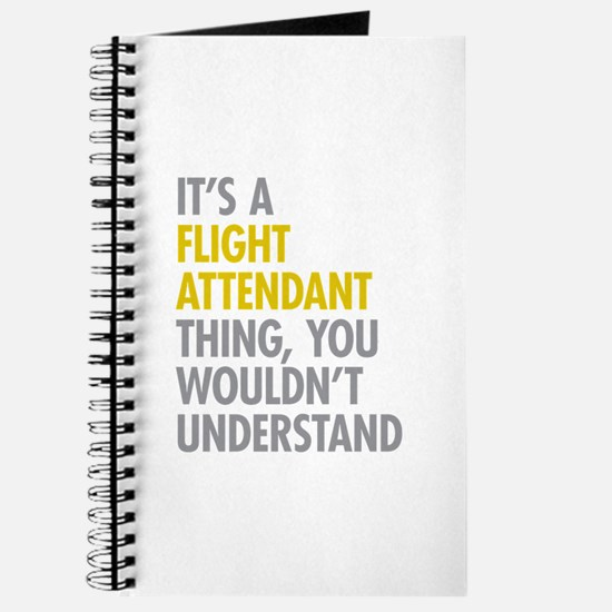 Flight Attendant Thing Journal