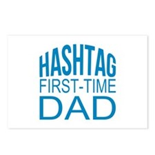 Hashtag First Time Dad Postcards (Package of 8)