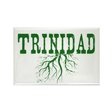 Trinidad Roots Rectangle Magnet