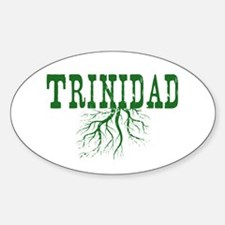Trinidad Roots Sticker (Oval)