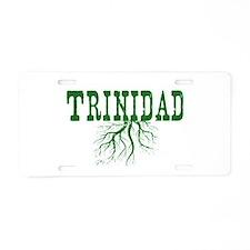Trinidad Roots Aluminum License Plate