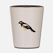 woodpecker Shot Glass