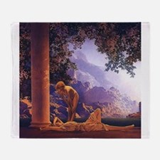 Maxfield Parrish Daybreak Nouveau Classical Throw