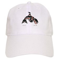 Diving Killer Whale Baseball Cap