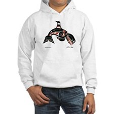 Diving Killer Whale Hoodie