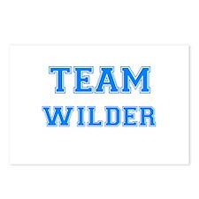 TEAM WILDER Postcards (Package of 8)