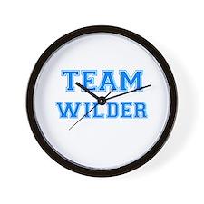 TEAM WILDER Wall Clock
