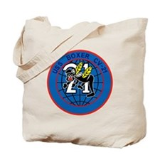 CV-21 USS BOXER Multi-Purpose Aircraft Ca Tote Bag