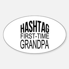 First Time Grandpa Decal