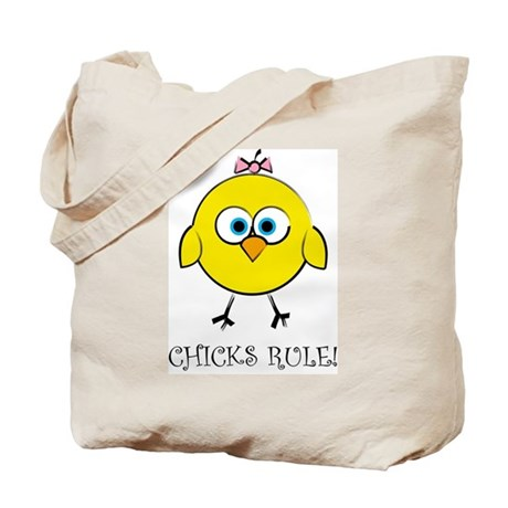 Chick's Rule Tote Bag