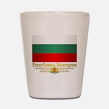 Flag of Bulgaria Shot Glass