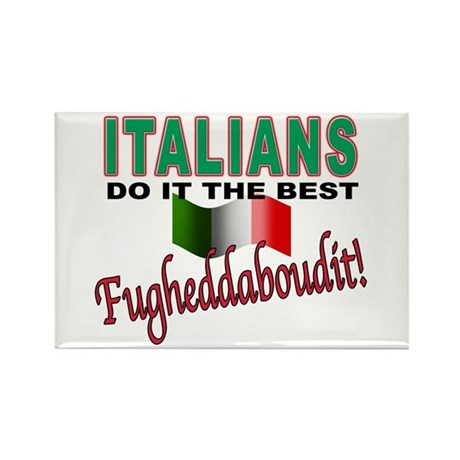 Italians do it the best Rectangle Magnet (100 pack