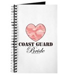 Coast Guard Bride Pink Camo Journal