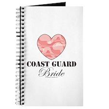 Coast Guard Bride Pink Camo Journal