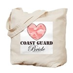 Coast Guard Bride Pink Camo Tote Bag