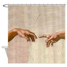 Creation of Adam Fingers Sistine Michelangelo Show