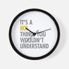 Its A Koi Thing Wall Clock