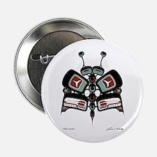 """Tléiloo (Moth) 2.25"""" Button (10 pack)"""