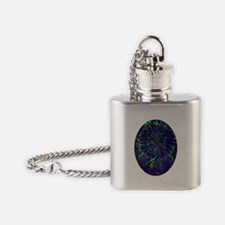NIGHT FLOWER Flask Necklace