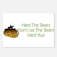 Herd The Taters! Postcards (Package of 8)