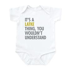 Its A Latke Thing Infant Bodysuit